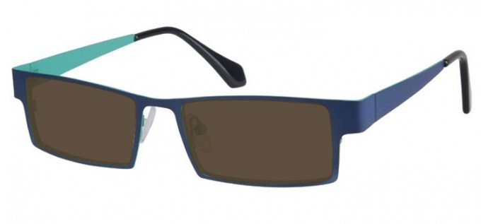 Sunglasses in Blue/Green