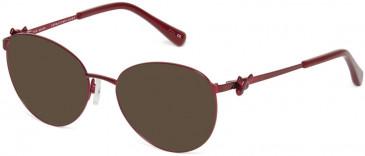 Ted Baker TB2243 sunglasses in Burgundy