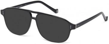 Hackett HEB210 sunglasses in Milky Brown Horn UTX