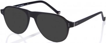 Hackett HEB203 sunglasses in Olive Horn UTX