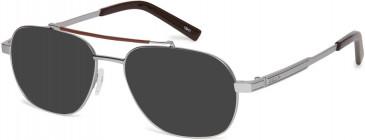 Ducati DA3018 sunglasses in Gun White
