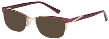 Ted Baker TB2265 sunglasses in Burgundy