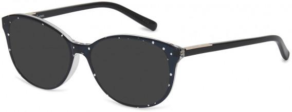 Christian Lacroix CL1040 Sunglasses in Black/White Polka Dot