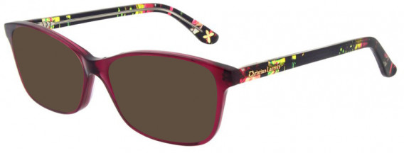 Christian Lacroix CL1044 Sunglasses in Bord Babyl Night