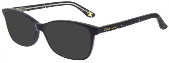 Christian Lacroix CL1044 Sunglasses in Jais Plumetis