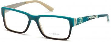 Diesel DL5027-53 glasses in Turquoise
