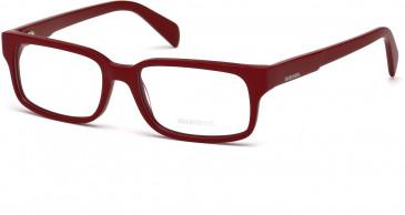 Diesel DL5080 glasses in Matt Red