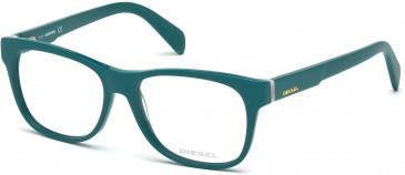 Diesel DL5087 Glasses in Teal