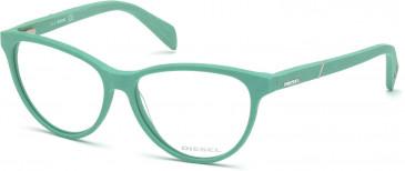 Diesel DL5130 Glasses in Aqua Marine