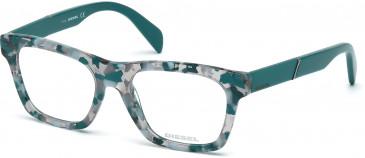 Diesel DL5092 Glasses in Teal