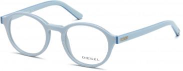 Diesel DL5024 glasses in Light Blue