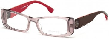 Diesel DL5028 glasses in Clear Pink