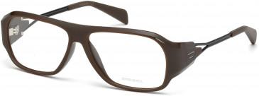 Diesel DL5052 glasses in Dark Brown