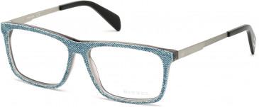 Diesel DL5153 glasses in Denim/Silver