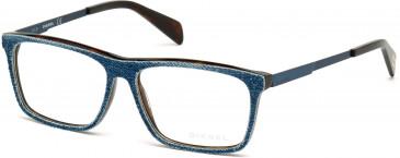 Diesel DL5153 glasses in Denim/Blue