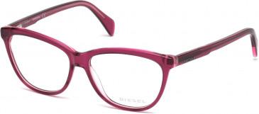 Diesel DL5182 glasses in Pink Purple