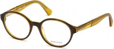 Diesel DL5266 glasses in Brown/Yellow