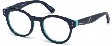 Diesel DL5231 glasses in Dark Blue/Blue