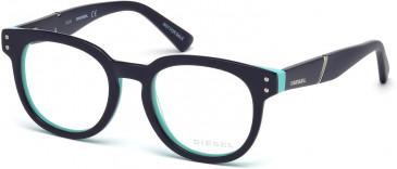 Diesel DL5230 glasses in Dark Blue/Blue