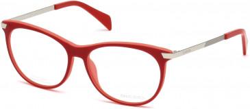 Diesel DL5219 glasses in Red/Pink