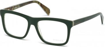 Diesel DL5118 glasses in Green