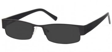 Sunglasses in Matt Black