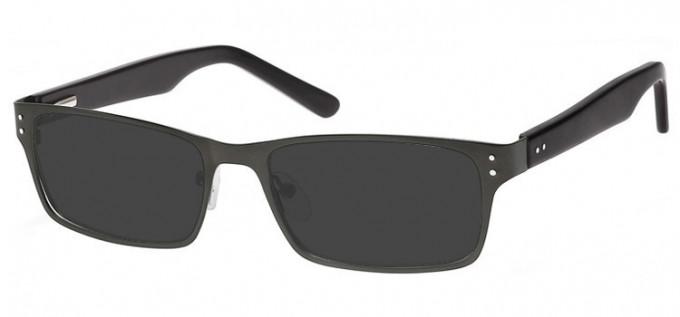 Sunglasses in Dark Gunmetal