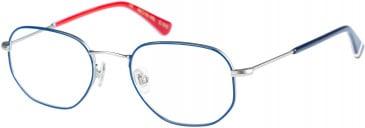 Superdry SDO-HARLON glasses in Navy Silver