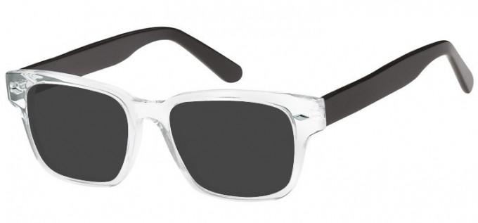 Sunglasses in Clear/Black