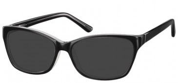 Sunglasses in Black/Clear