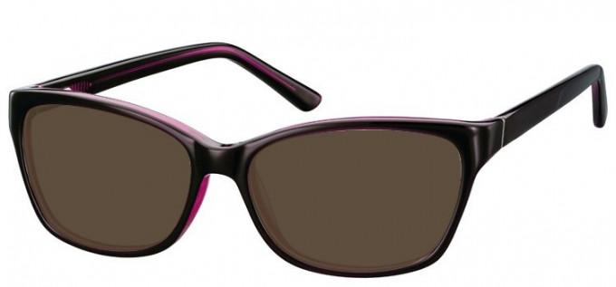 Sunglasses in Black/Purple