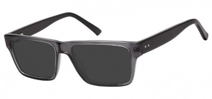Sunglasses in Clear Grey