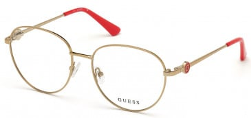 GUESS GU2756-53 glasses in Shiny Light Brown