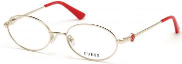 GUESS GU2758-53 glasses in Pale Gold