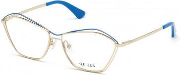 GUESS GU2759 glasses in Pale Gold
