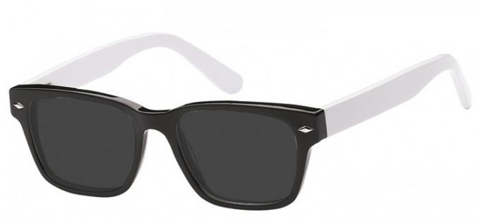 Sunglasses in Black/White
