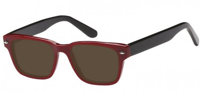 Sunglasses in Red/Black