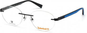 TIMBERLAND TB1656 glasses in Matte Black