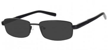 Sunglasses in Matt Black