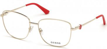 GUESS GU2757 glasses in Pale Gold