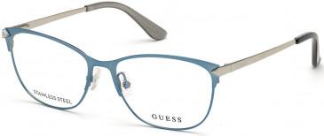 GUESS GU2755 glasses in Matte Light Blue