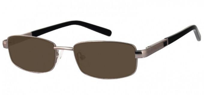 Sunglasses in Matt Light Gunmetal