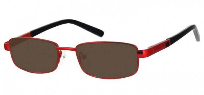 Sunglasses in Matt Burgundy