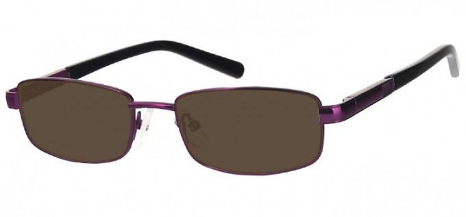 Sunglasses in Matt Purple