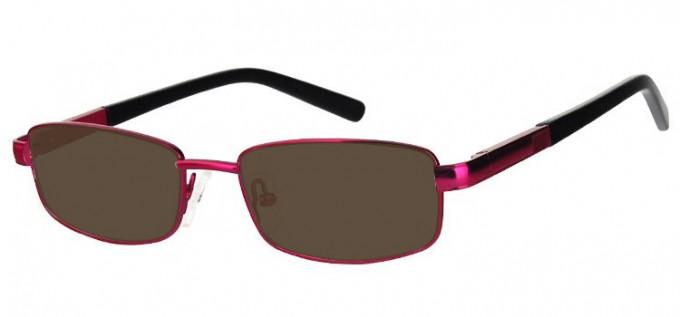 Sunglasses in Matt Pink