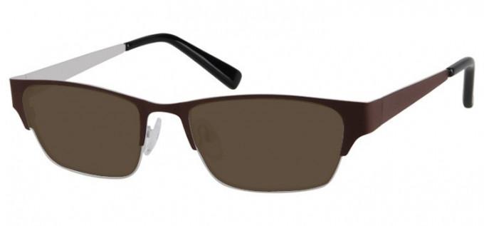 Sunglasses in Coffee/Grey