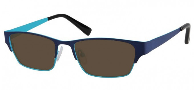 Sunglasses in Blue/Light Blue