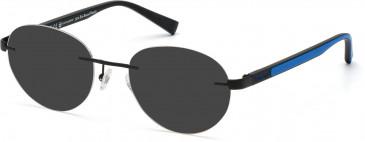 TIMBERLAND TB1656 sunglasses in Matte Black