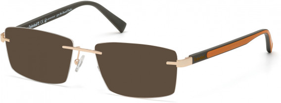 TIMBERLAND TB1657 sunglasses in Pale Gold