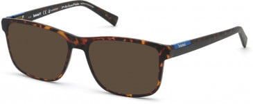 TIMBERLAND TB1663-54 sunglasses in Dark Havana